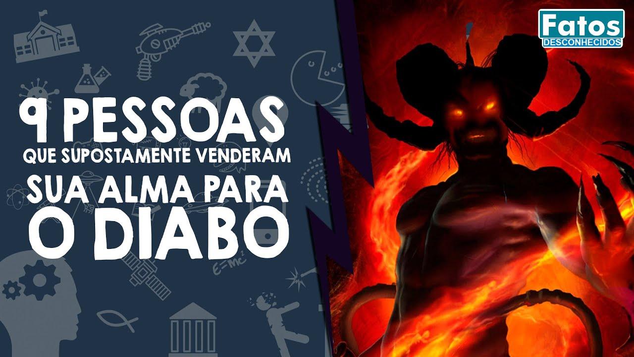 9 Pessoas que supostamente venderam sua alma para o Diabo