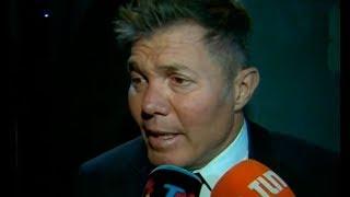 Burlando habló tras la denuncia de violación contra Juan Darthés