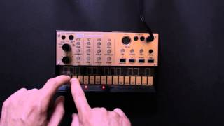 KORG Volca keys - Sequencing a Melody