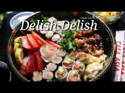 Sashimi/Maki Roll Platter *Mukbang* Eating/Cooking Channel