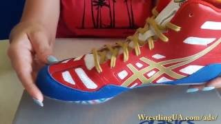 Боксерки, борцовки ASICS Men's JB Elite Wrestling Shoe видео обзор