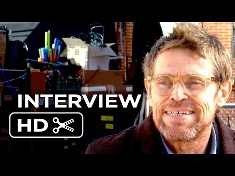 The Fault In Our Stars Interview - Willem Dafoe (2014) - Shailene ...