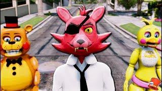 *NEW* HIGH SCHOOL FOXY ANIMATRONIC! (GTA 5 Mods For Kids FNAF RedHatter)