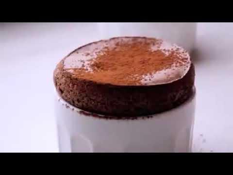 %100 saf bitter çikolatayla yapılan Ship Inn Sufflesi