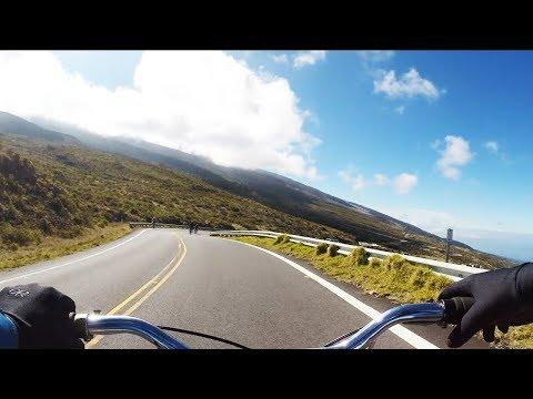 Biking Down A VOLCANO in HAWAII?!