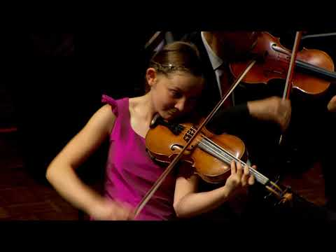 Alma Deutscher, Violin concerto in G minor 2017