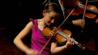 Girl plays concert she composed when she was only 9 years old. Alma Deutscher, Violin concerto in G