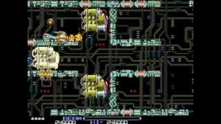 R-Type (Arcade) - No Death Playthrough [Difficulty: Normal]