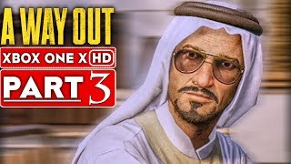 A WAY OUT Gameplay Walkthrough Part 3 [1080p HD Xbox One X] - No Commentary