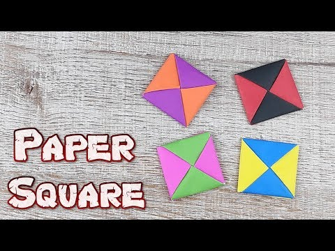 Origami An Instructions Square Paper | How To Make A Geometric Cube Tutorials | DIY Paper Craft