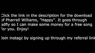 Pharrell williams - happy (free download link)