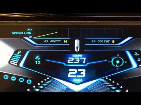 Nextion - custom boat dash instrument cluster