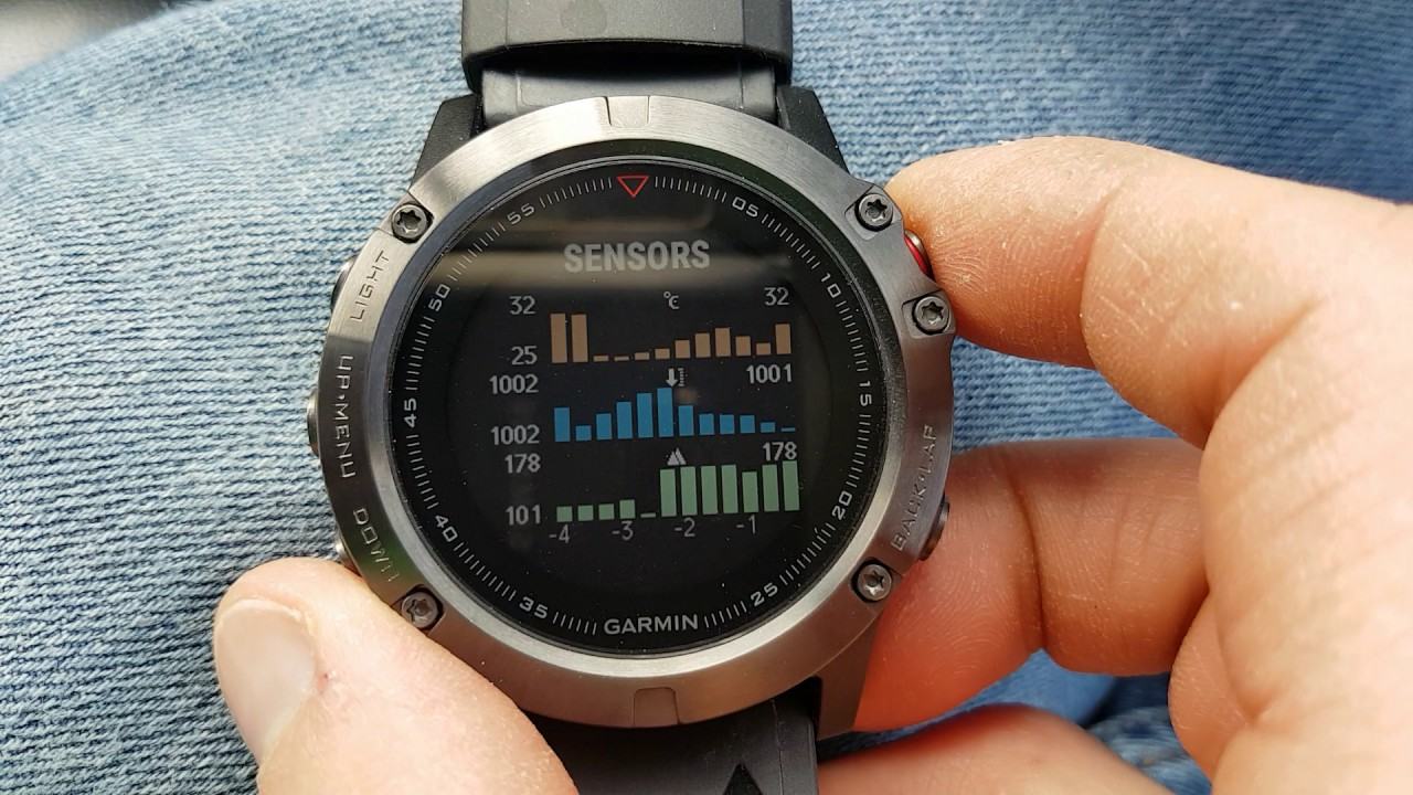 Garmin fenix 5 best info widgets