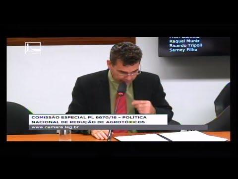 PL 6670/16 - POLÍTICA NACIONAL REDUÇÃO AGROTÓXICOS - Reunião Deliberativa - 11/07/2018 - 14:56