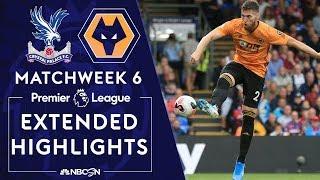Crystal Palace v. Wolves | PREMIER LEAGUE HIGHLIGHTS | 9/22/19 | NBC Sports