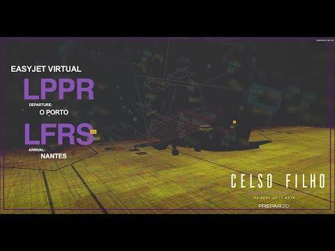 [Prepar3d V4.1]  Easyjet Virtual - Back to France | LPPR  → LFRS | IVAO