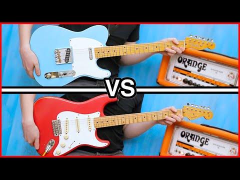 Fender Tele VS Fender Strat