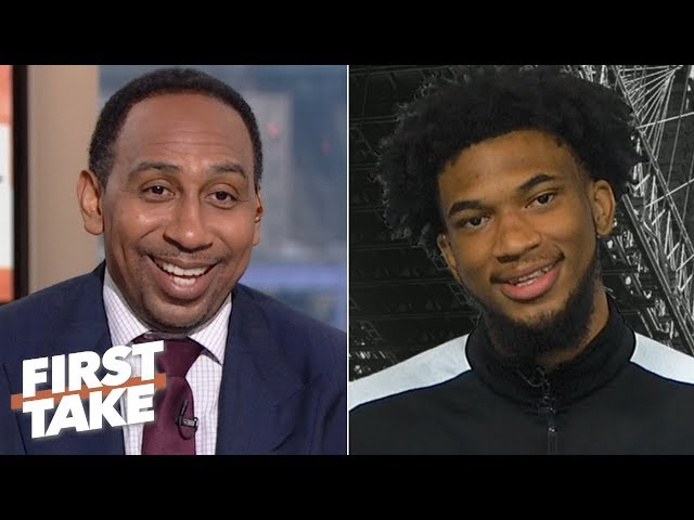 Marvin Bagley admires Zions motor, sees Cam Reddish as a top player in the draft | First Take