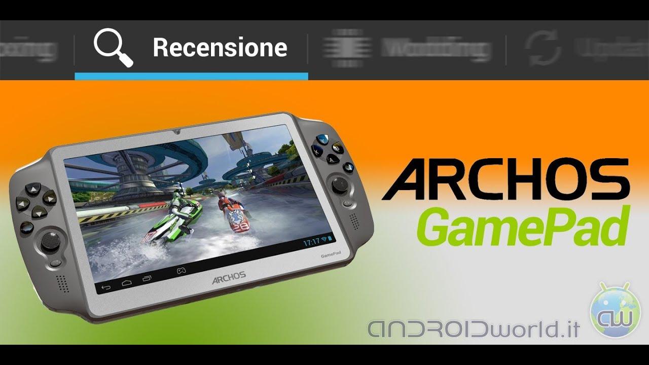 Archos GamePad, la recensione in italiano by Androidworld ...