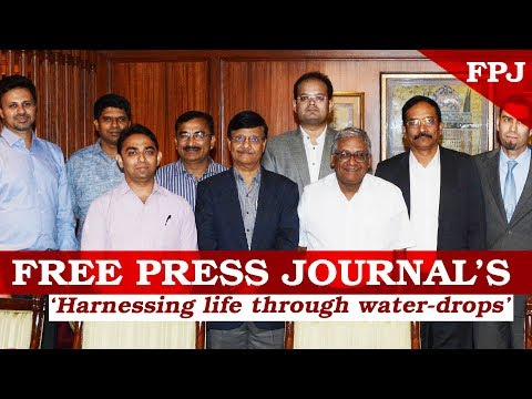 Free Press Journal's 'Harnessing Life Through Water-Drops'