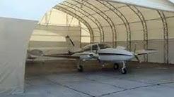Aircraft Hangars-Hangar Door Operation-Fabric Buildings by Big Top in Florida