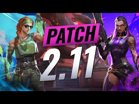 NEW UPDATE: FPS FIXES + REPLICATION + Minor BUG FIXES - Valorant Patch 2.11
