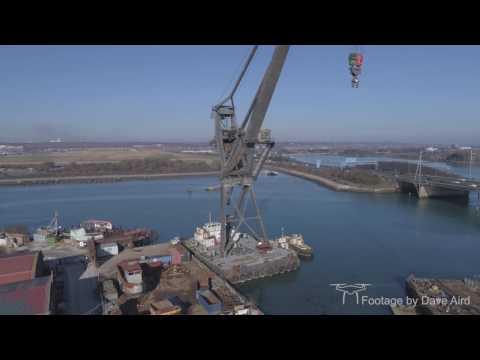 Tipner Ship Breakers By Drone 4K