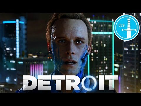 Playing Detroit: Become Human's First Mission Two Different Ways -- CLS Let's Play