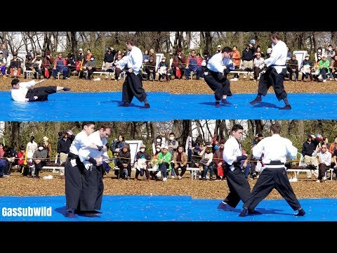 3 4 18 Demonstration of Japanese Classical Martial Arts (日本 古武道 演舞) @ Tokyo Japan