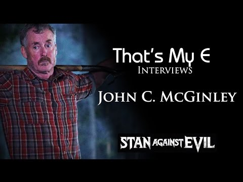 That's My E Interviews John C McGinley Hollywood Premiere Stan Against Evil