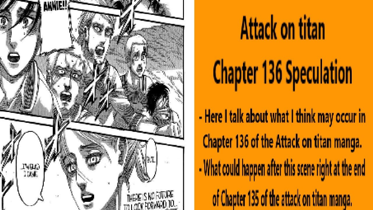 Attack On Titan Chapter 136 Speculation Youtube Shingeki no kyojin offer your hearts chapter navigation attack on titan chapter 136 speculation