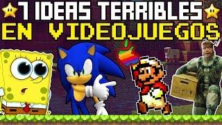 Top 7: Las PEORES Ideas en la Historia de los Videojuegos