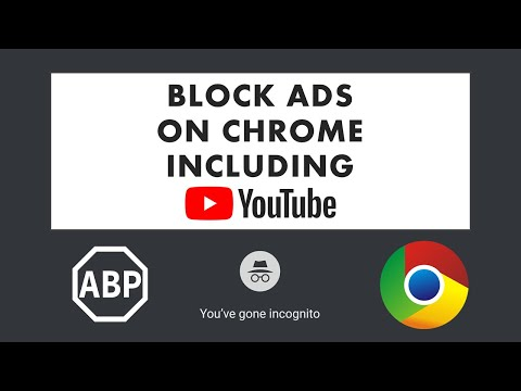 Installing AdBlock For Chrome (with Incognito Mode)