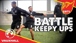 Battle Keepy Ups! | Coutinho v Ibe v Markovic v Sterling