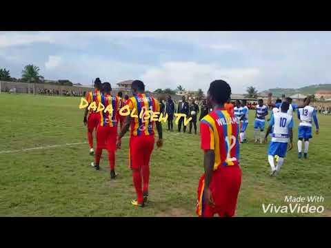 Highlights of Young Wise 0-1 Hearts of Oak FA Cup 2018 Round of 64