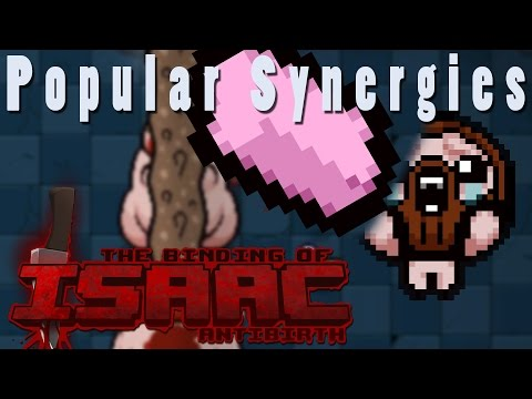 The Binding of Isaac Antibirth | Infinite Erasers | Popular Synergies!