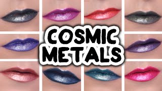 NYX COSMIC METALS SWATCHES + REVIEW  |  jeanfrancoiscd