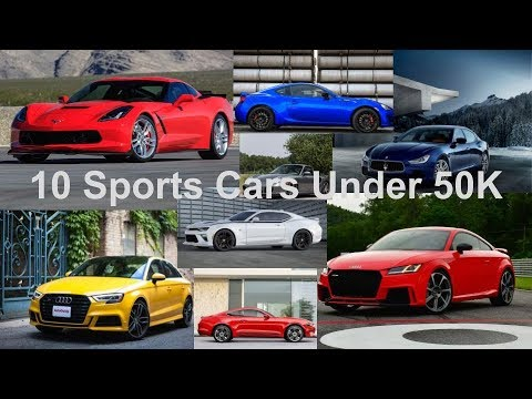 top ten sports cars under 50 000 in 2018 youtube. Black Bedroom Furniture Sets. Home Design Ideas