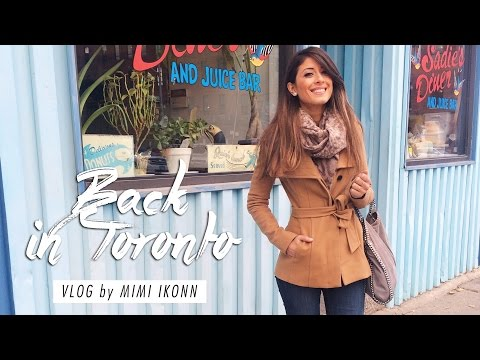 Friends, Work, Freezing Cold & Meet Up | Toronto Vlog