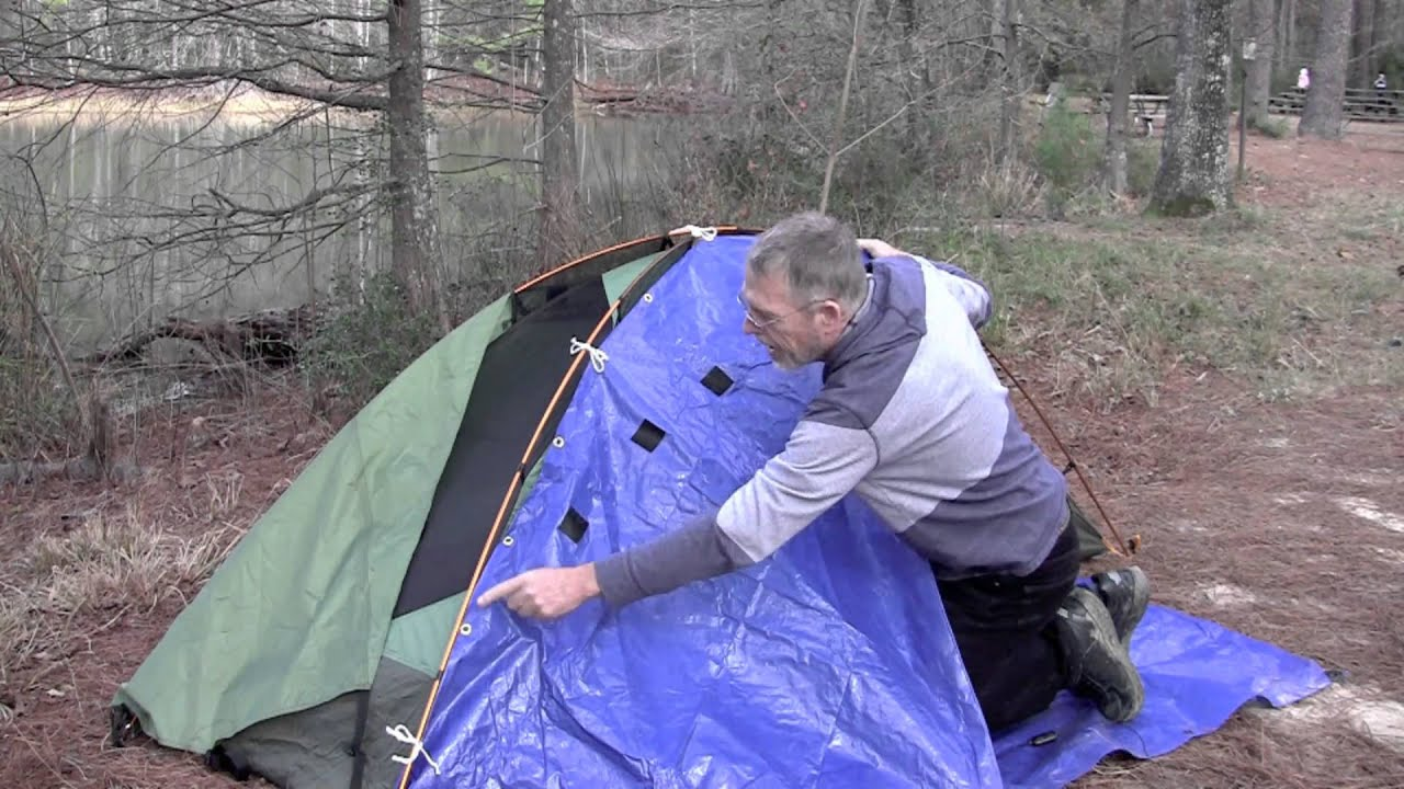 How To Make A Tent Make Your Own Vestibule For Eureka Backcountry Tent Youtube