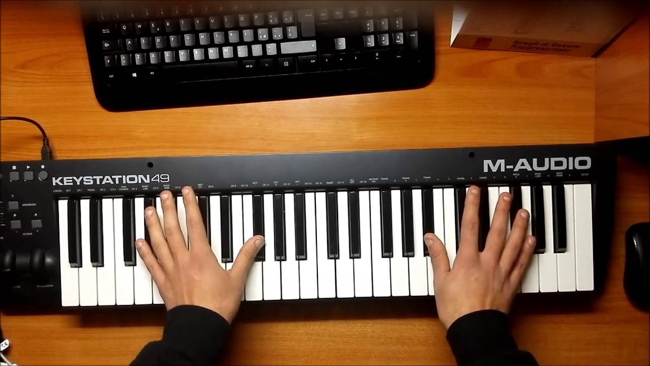 How to play alan walker faded piano cover easy for Piani domestici di alan mascord