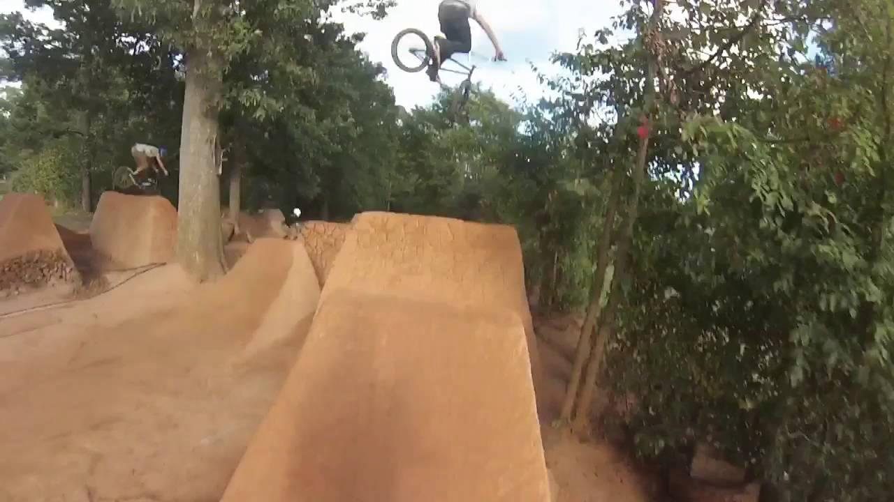 bmx trails nc grove youtube