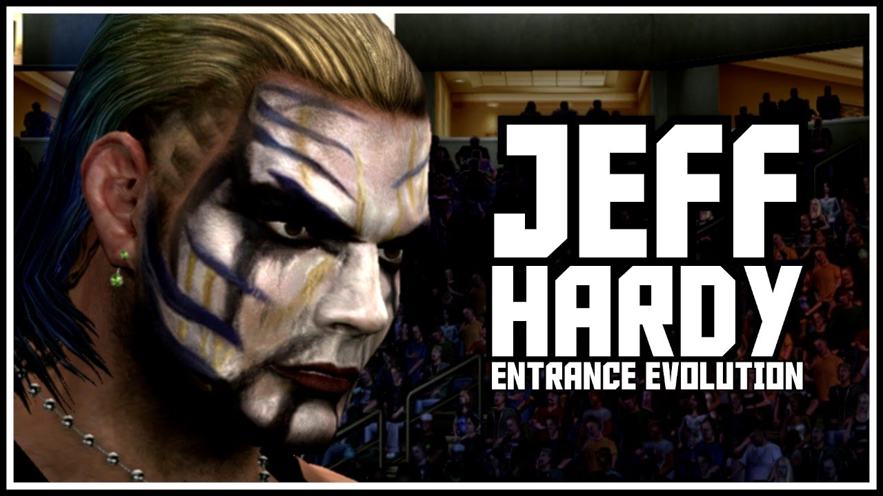 Uncategorized Jeff Hardy Game jeff hardy wwe games evolution history of in 2k smackdown svr 2010 youtube