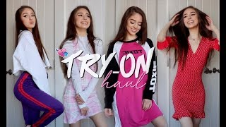 HUGE TRY-ON HAUL 2018 | FASHIONNOVA, PRETTYLITTLETHING, ZAFUL
