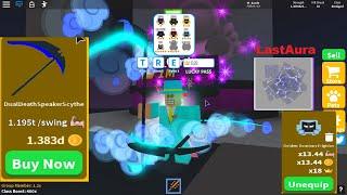 Update Saber Simulator Got Last Saber ⚡ New Aura ⚡ Dominus Pet (ROBLOX)