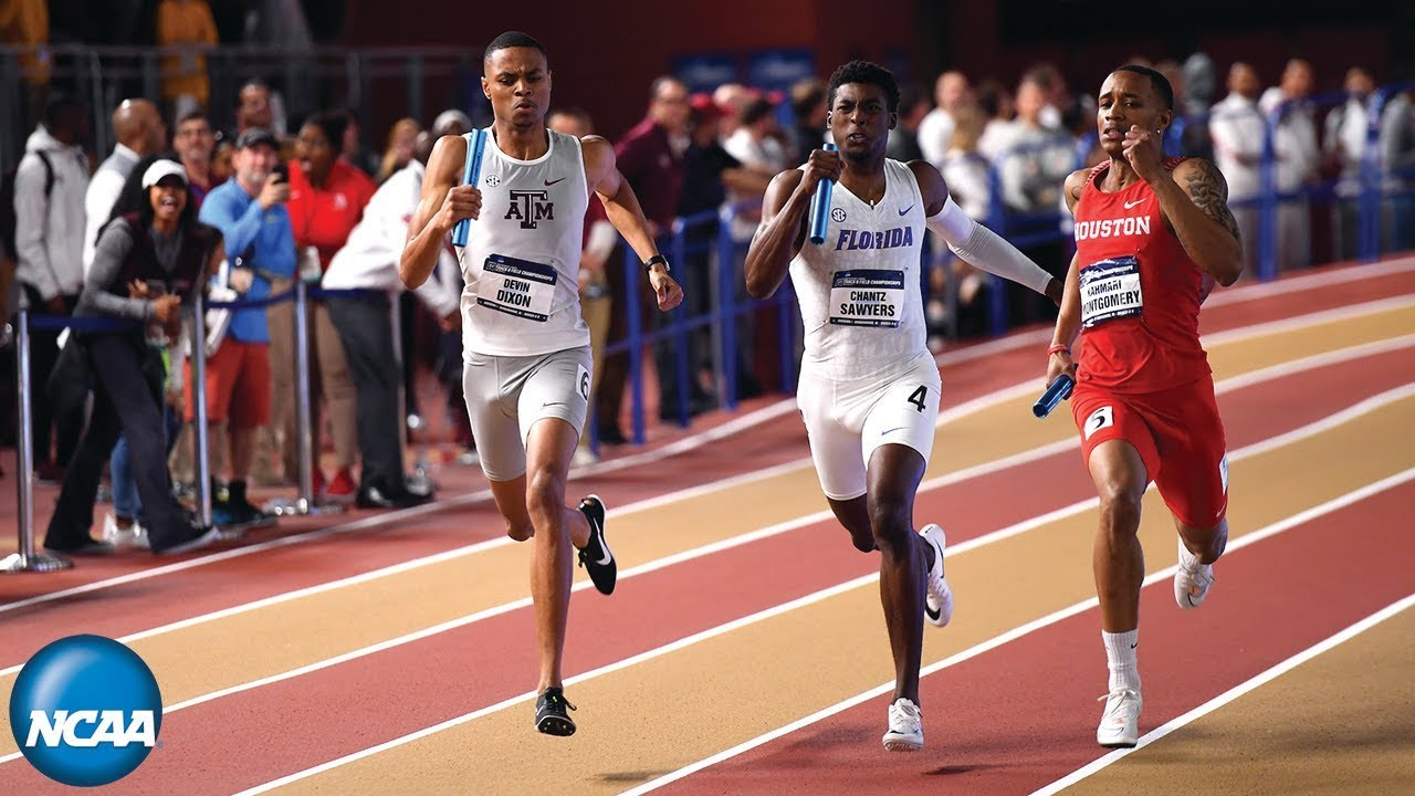 Men's 4x400m relay - 2019 NCAA Indoor Track and Field Championship - YouTube