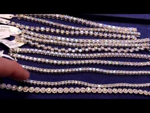 Diamond tennis bracelets New York City Mike Nekta call 212-921-4647