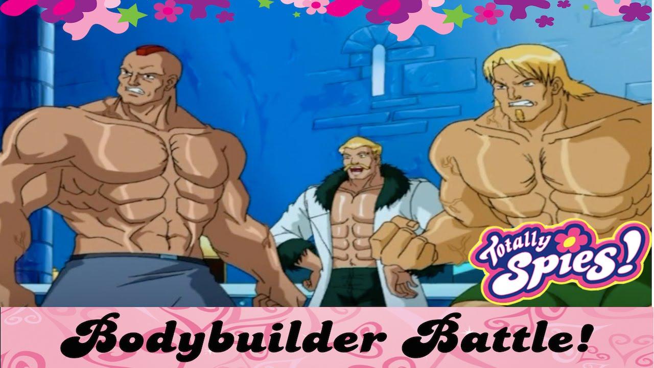 Bodybuilder Battle | Totally Spies - YouTube