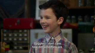 Young Sheldon Episode 1 clip (where it all started) With subtitles