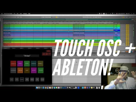 Using TouchOSC to Control Ableton Live!(Arrangement Template For Sale)